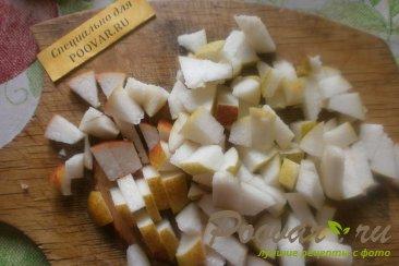 Киш с яблоками и грушами Шаг 6 (картинка)