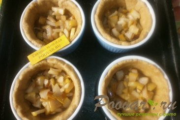 Киш с яблоками и грушами Шаг 13 (картинка)