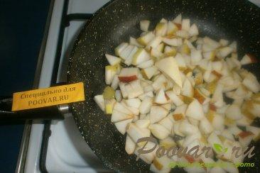 Киш с яблоками и грушами Шаг 7 (картинка)