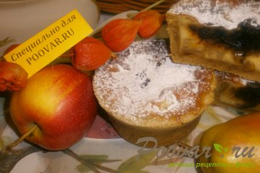 Киш с яблоками и грушами Шаг 18 (картинка)