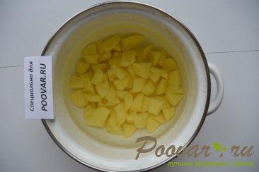 Суп из рыбных консервов Шаг 1 (картинка)