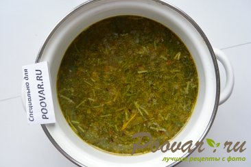 Суп из рыбных консервов Шаг 7 (картинка)