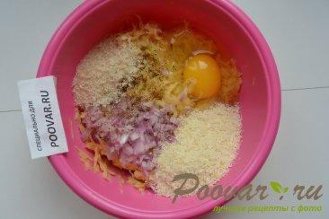 Картофельные драники с мясом и сыром Шаг 6 (картинка)