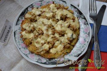 Картофельные драники с мясом и сыром Шаг 12 (картинка)