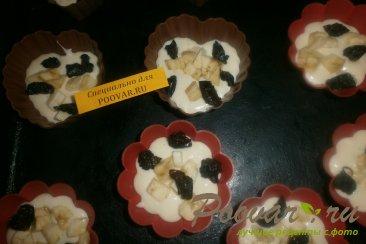 Кексы с бананом и черносливом Шаг 8 (картинка)
