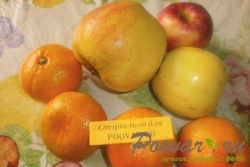 Варенье из мандаринов и яблок Шаг 1 (картинка)