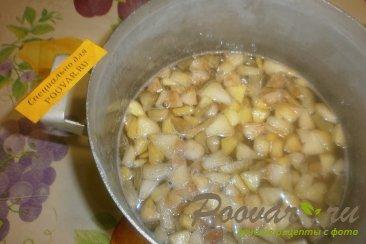 Варенье из мандаринов и яблок Шаг 7 (картинка)