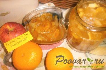 Варенье из мандаринов и яблок Шаг 11 (картинка)