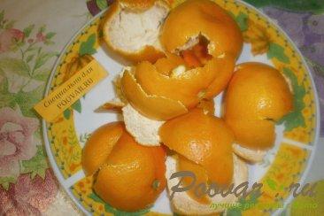 Варенье из мандариновых корочек Шаг 1 (картинка)