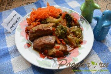 Тушенная свинина с овощами Шаг 17 (картинка)