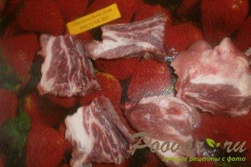Свиные рёбрышки с вином Шаг 2 (картинка)