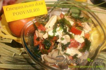 Салат с курицей, помидорами и сыром Шаг 5 (картинка)