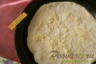 Пицца с жареным перцем и вялеными помидорами Шаг 10 (картинка)