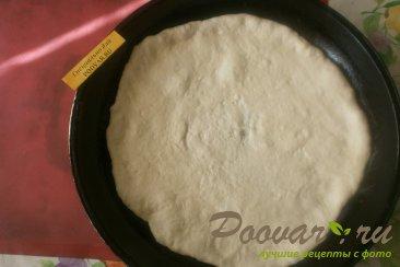 Пицца с жареным перцем и вялеными помидорами Шаг 9 (картинка)