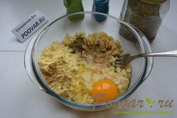 Картофельные крекеры с перепелиными яйцами Шаг 2 (картинка)