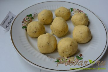 Картофельные крекеры с перепелиными яйцами Шаг 5 (картинка)