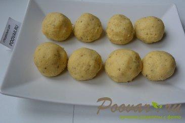 Картофельные крекеры с перепелиными яйцами Шаг 7 (картинка)