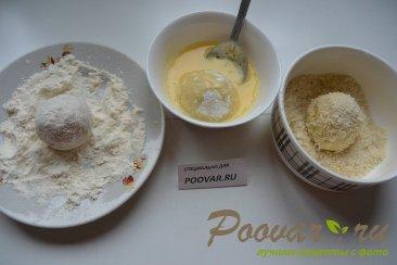 Картофельные крекеры с перепелиными яйцами Шаг 8 (картинка)