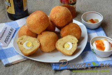 Картофельные крекеры с перепелиными яйцами Шаг 12 (картинка)