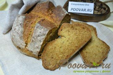 Пшенично-ржаной хлеб за 1 час, без дрожжей Изображение