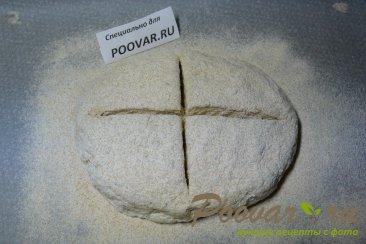 Пшенично-ржаной хлеб за 1 час, без дрожжей Шаг 10 (картинка)