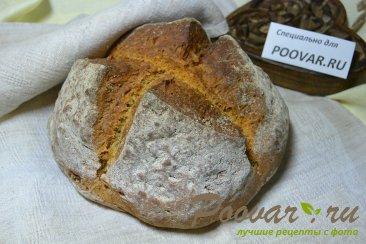 Пшенично-ржаной хлеб за 1 час, без дрожжей Шаг 12 (картинка)