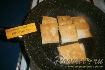 Лаваш с вареньем на сковороде Шаг 6 (картинка)