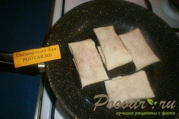 Лаваш с вареньем на сковороде Шаг 5 (картинка)