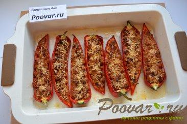 Запеченный перец чили с фаршем и сыром Шаг 14 (картинка)