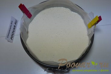 Творожно желейный торт с фруктами без выпечки Шаг 8 (картинка)