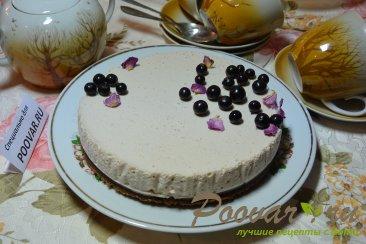 Творожно желейный торт с фруктами без выпечки Шаг 10 (картинка)