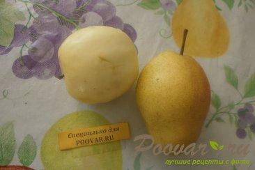 Фруктовый салат из хурмы, яблок и груш Шаг 3 (картинка)