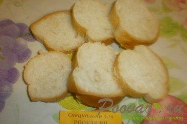 Бутерброды с печёночным паштетом и грудинкой Шаг 5 (картинка)