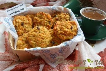 Тыкванно-овсяное печенье на кефире Изображение