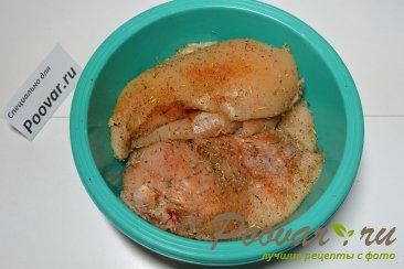 Куриная грудка с грибами вешенка Шаг 3 (картинка)