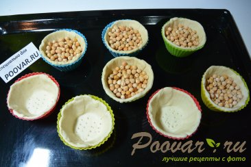 Тарталетки из слоенного теста с тунцом и яйцами Шаг 3 (картинка)
