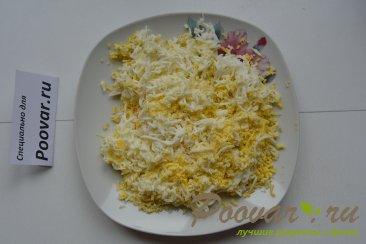 Тарталетки из слоенного теста с тунцом и яйцами Шаг 4 (картинка)