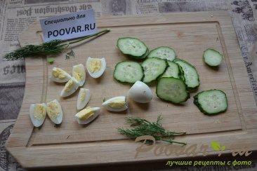 Тарталетки из слоенного теста с тунцом и яйцами Шаг 9 (картинка)