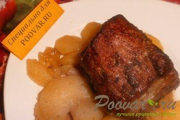 Свиные рёбрышки с картофелем Изображение