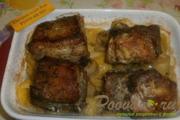 Свиные рёбрышки с картофелем Шаг 9 (картинка)