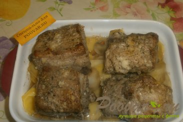 Свиные рёбрышки с картофелем Шаг 8 (картинка)