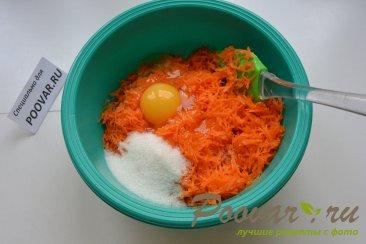 Морковно-овсяные оладьи на кефире Шаг 3 (картинка)