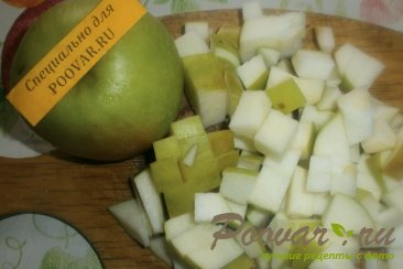 Корзиночки с яблоками и черносливом Шаг 2 (картинка)