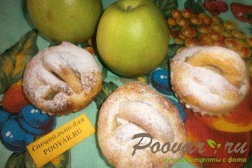 Корзиночки с яблоками и черносливом Шаг 13 (картинка)
