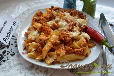 Запеканка из макарон с фаршем и сыром Шаг 13 (картинка)