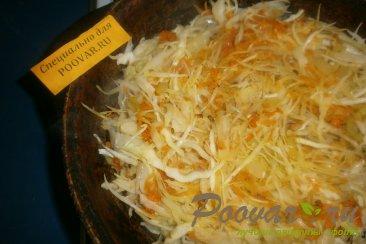 Пирожки с капустой в духовке Шаг 3 (картинка)