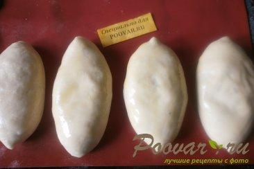Пирожки с капустой в духовке Шаг 11 (картинка)