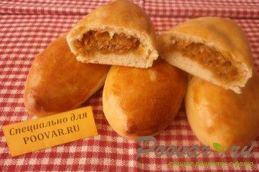 Пирожки с капустой в духовке Шаг 14 (картинка)