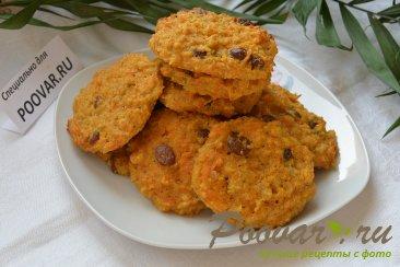 Овсяное печенье с тыквой без муки диетическое Изображение