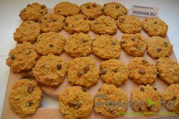 Овсяное печенье с тыквой без муки диетическое Шаг 8 (картинка)